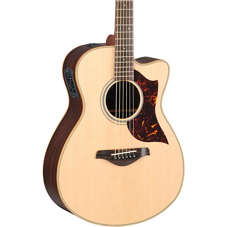 Yamaha A-Series Concert Acoustic-Electric Guitar with SRT Pickup Rosewood Back and Sides