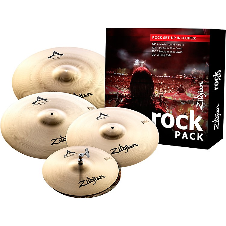 Zildjian A Series Cymbal Set Rock