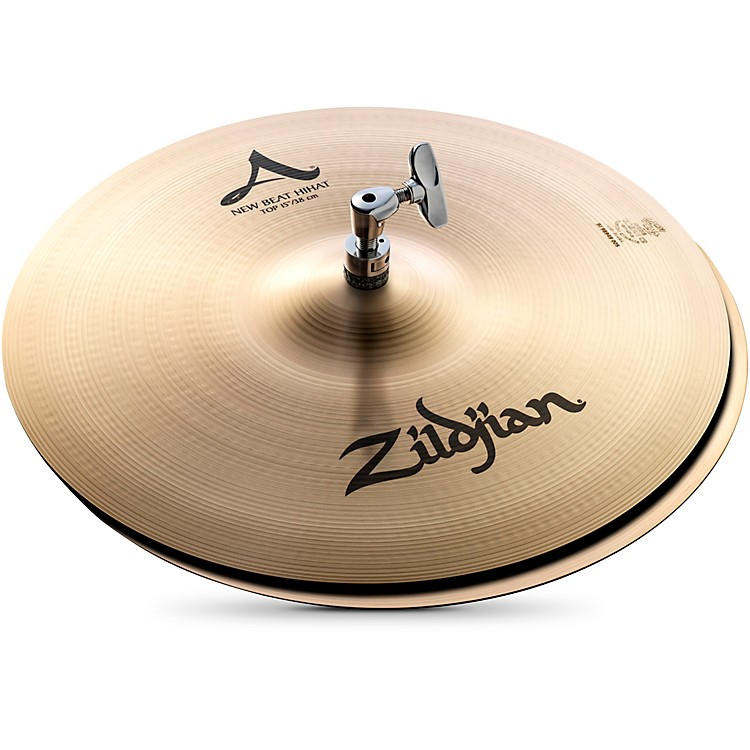 Zildjian A Series New Beat Hi-Hat Cymbal Pair  15 in.