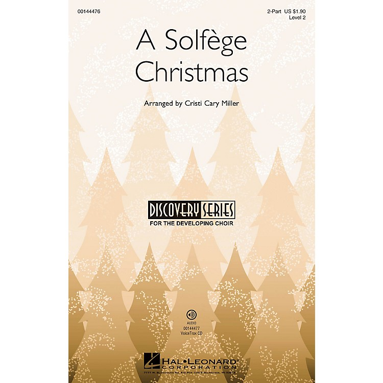 Hal LeonardA Solfege Christmas (Discovery Level 2) 2-Part arranged by Cristi Cary Miller