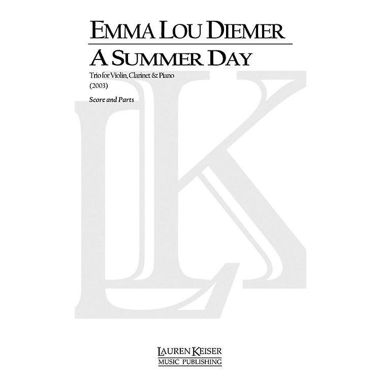 Lauren Keiser Music PublishingA Summer Day: Trio for Violin, Clarinet and Piano LKM Music Series by Emma Lou Diemer