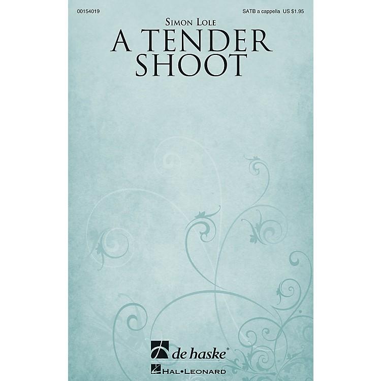 De Haske MusicA Tender Shoot SATB a cappella composed by Simon Lole