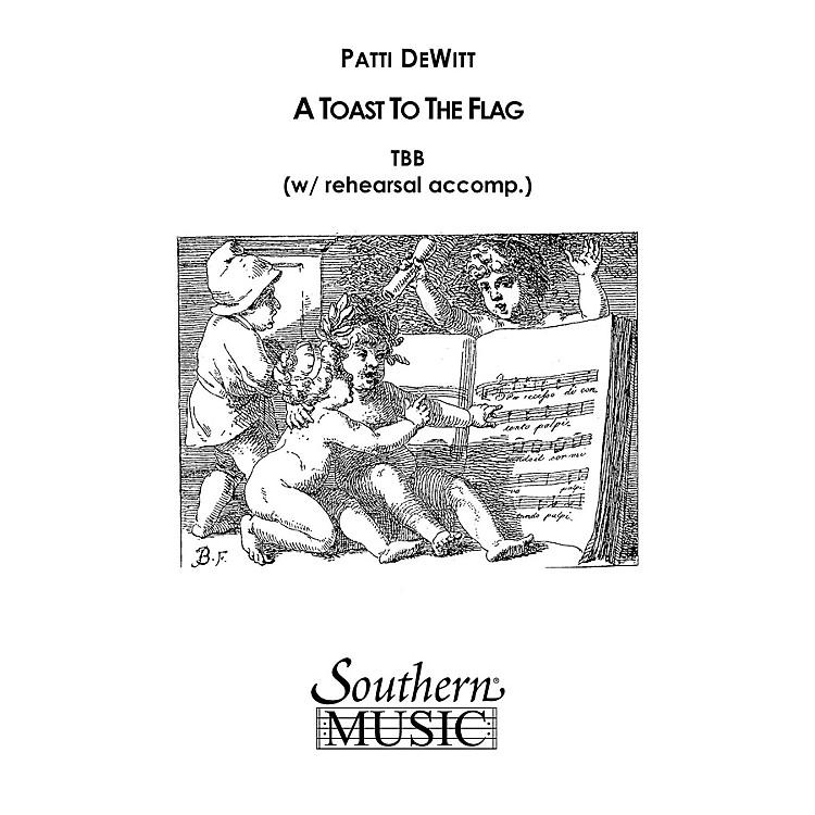 Hal LeonardA Toast To The Flag (Choral Music/Octavo Secular Tbb) TBB Composed by Dewitt, Patti