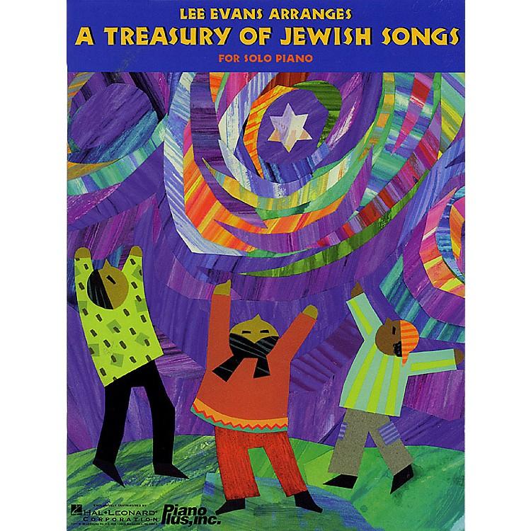 Hal LeonardA Treasury of Jewish Songs (Lee Evans Arranges) Evans Piano Education Series (Intermediate)
