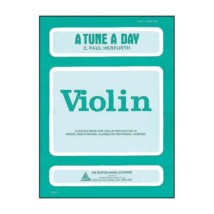 Music SalesA Tune A Day Violin Book 2