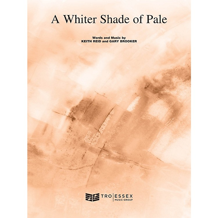 TRO ESSEX Music GroupA Whiter Shade of Pale Richmond Music ¯ Sheet Music Series Softcover
