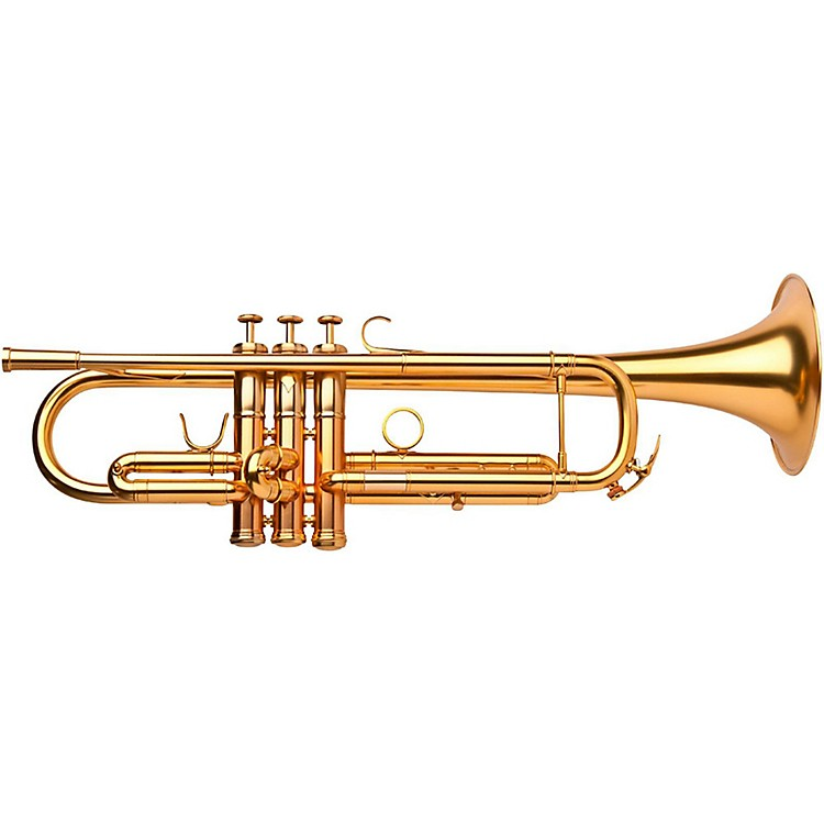 Adams A1 Selected Series Professional Bb Trumpet Satin Gold Lacquer