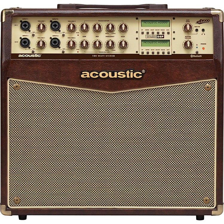 Acoustic A1000 100W Stereo Acoustic Guitar Combo Amp  888365910826
