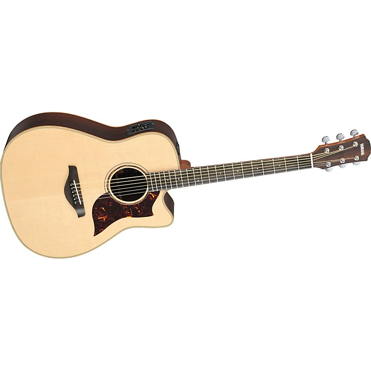 Yamaha A3r All Solid Wood Dreadnought Acoustic Electric