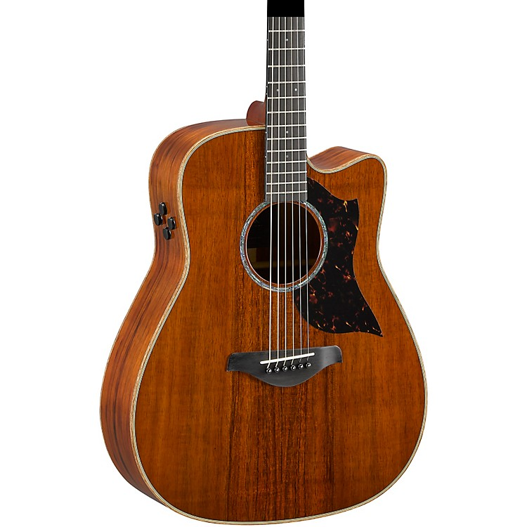 yamaha a4kii limited koa dreadnought acoustic electric guitar music123. Black Bedroom Furniture Sets. Home Design Ideas