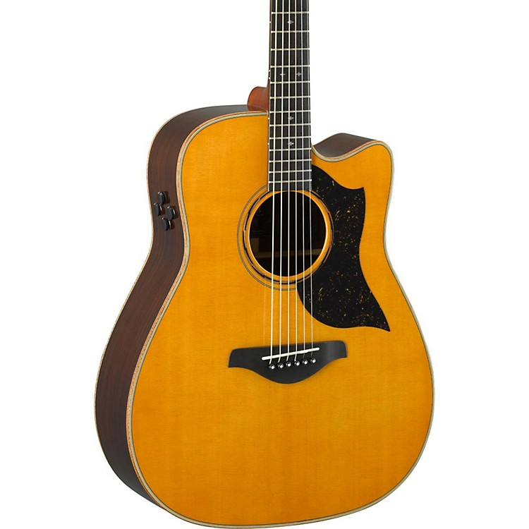 yamaha a5r a series folk acoustic electric guitar vintage natural music123. Black Bedroom Furniture Sets. Home Design Ideas