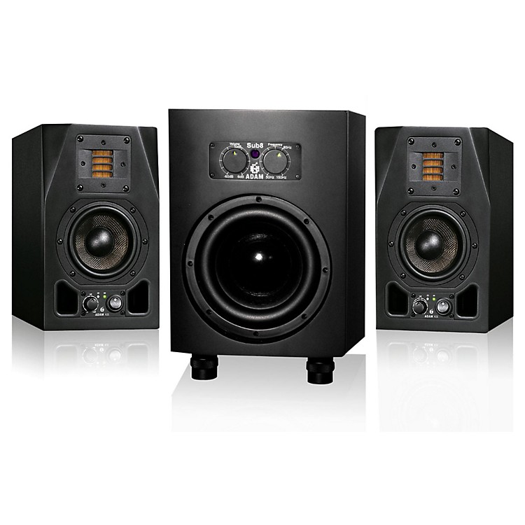 Adam AudioA5X and Sub8 2.1 Package
