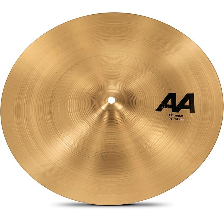SabianAA Chinese Cymbal16 in.