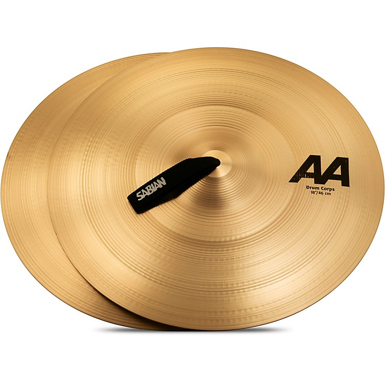 Sabian AA Drum Corps Cymbals 18 in.
