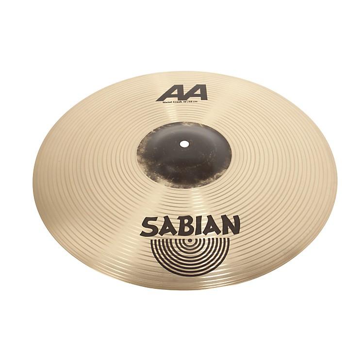 SabianAA Metal Crash Cymbal19 in.