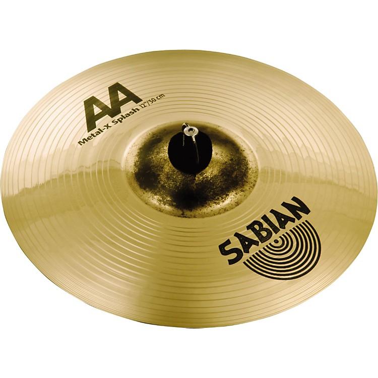 SabianAA Metal X Splash Cymbal12 in.