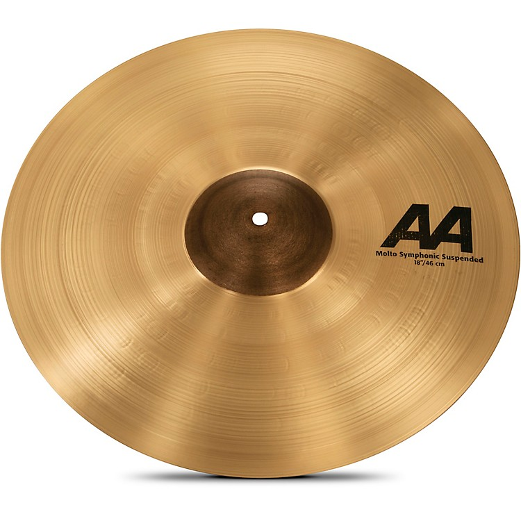 SabianAA Molto Symphonic Series Suspended Cymbal18 in.