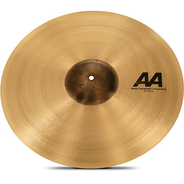 Sabian AA Molto Symphonic Series Suspended Cymbal 18 in.