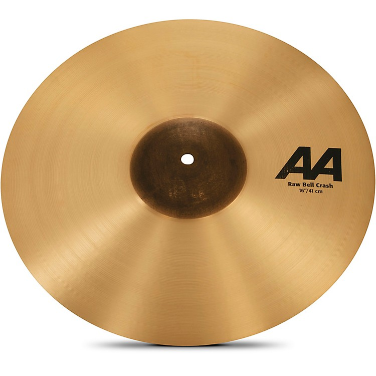 SabianAA Raw Bell Crash Cymbal16 in.