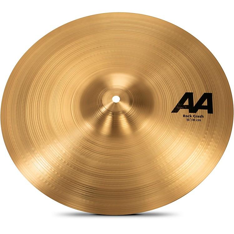 SabianAA Rock Crash Cymbal16 in.