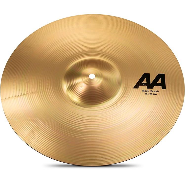 SabianAA Rock Crash Cymbal Brilliant16 in.