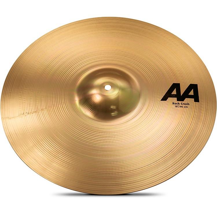 SabianAA Rock Crash Cymbal Brilliant18 in.