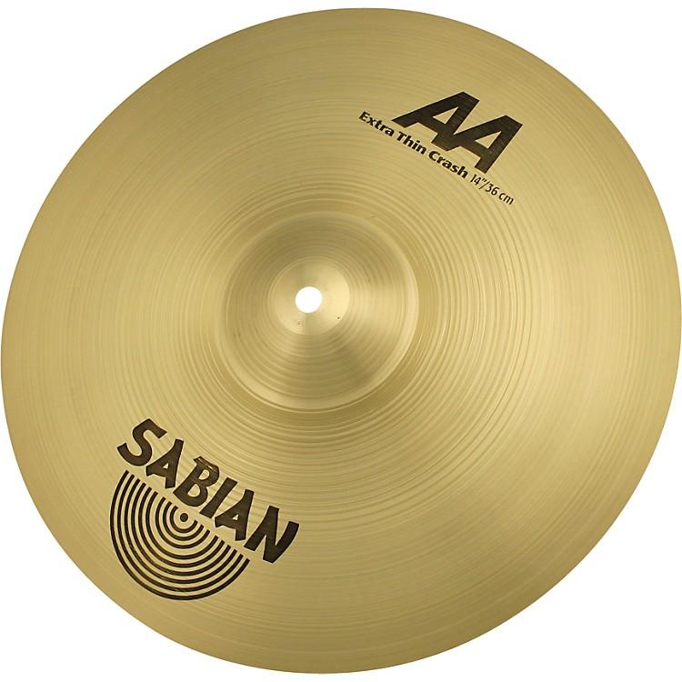 SabianAA Series Extra Thin Crash Cymbal14 in.
