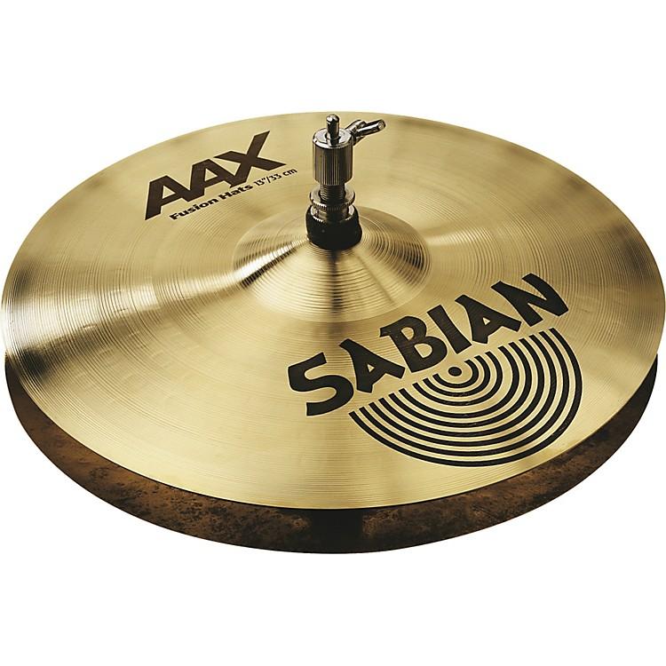 SabianAAX Fusion Hi Hats13 in.