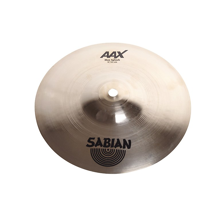 Sabian AAX Max Splash Brilliant Finish 9 in. Brilliant