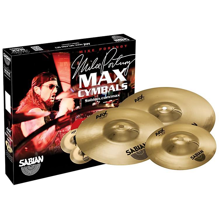 SabianAAX Max Splash Cymbal Set Brilliant Finish7 in., 9 in., 11 in.Brilliant