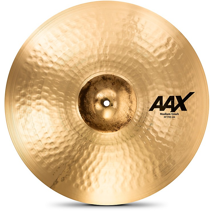 Sabian AAX Medium Crash Cymbal Brilliant 20 in.