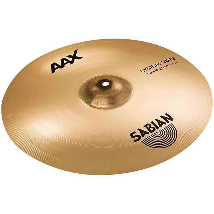 SabianAAX Recording Crash Cymbal16 in.