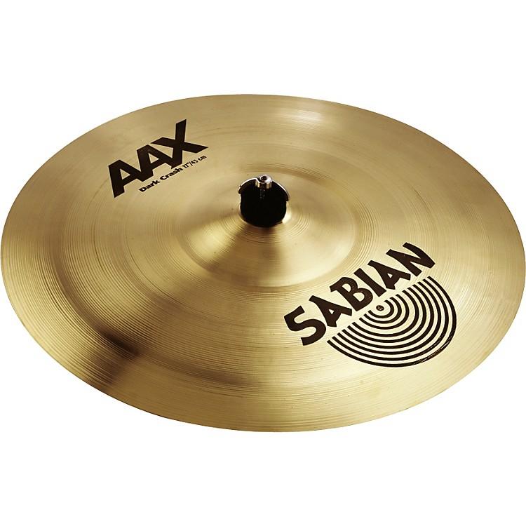 SabianAAX Series Dark Crash Cymbal17 in.