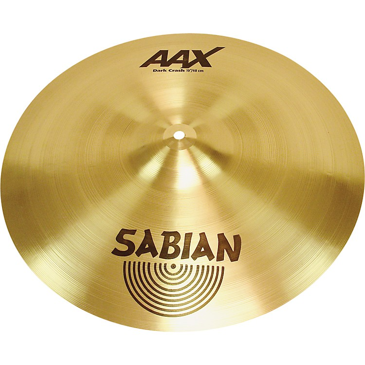 Sabian AAX Series Dark Crash Cymbal  19 in.
