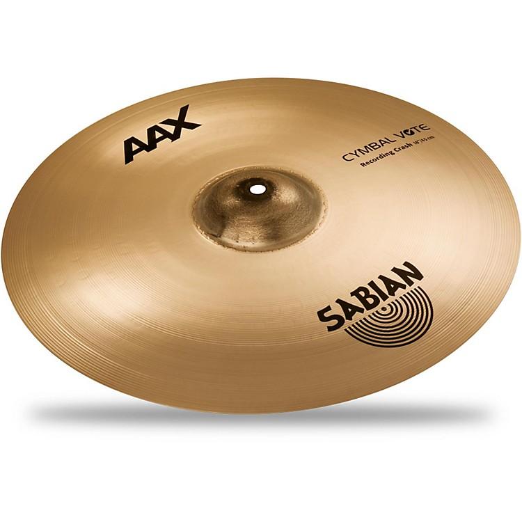 SabianAAX Series Recording Crash Cymbal Brilliant18 in.