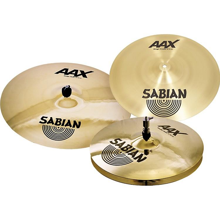 SabianAAX Stage Performance Cymbal Set, Brilliant Finish886830914805