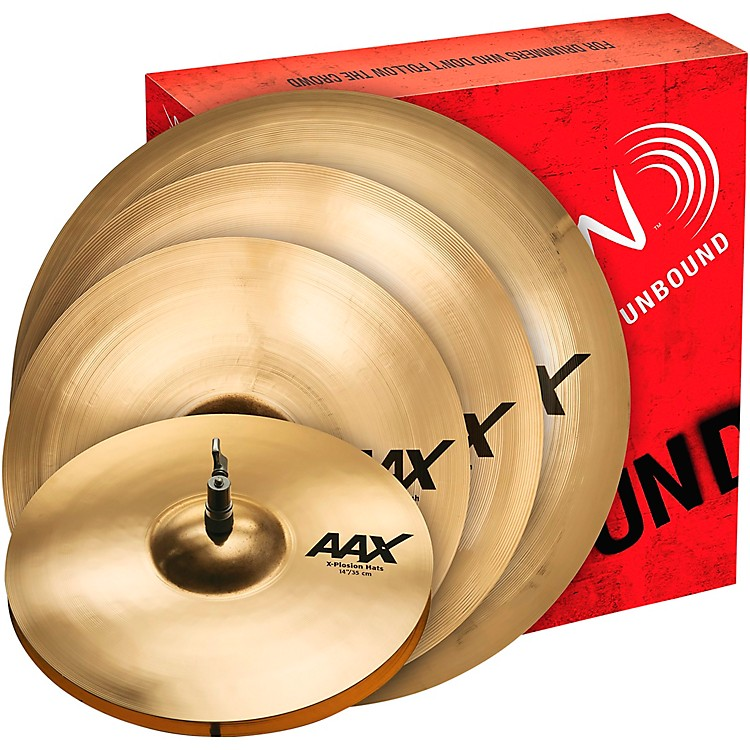 SabianAAX X-Plosion Cymbal Pack