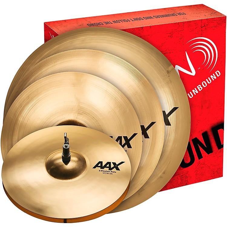 SabianAAX X-Plosion Cymbal Set