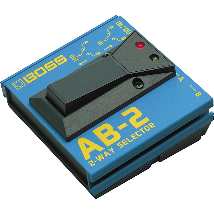 BossAB-2 2-Way Selector Pedal