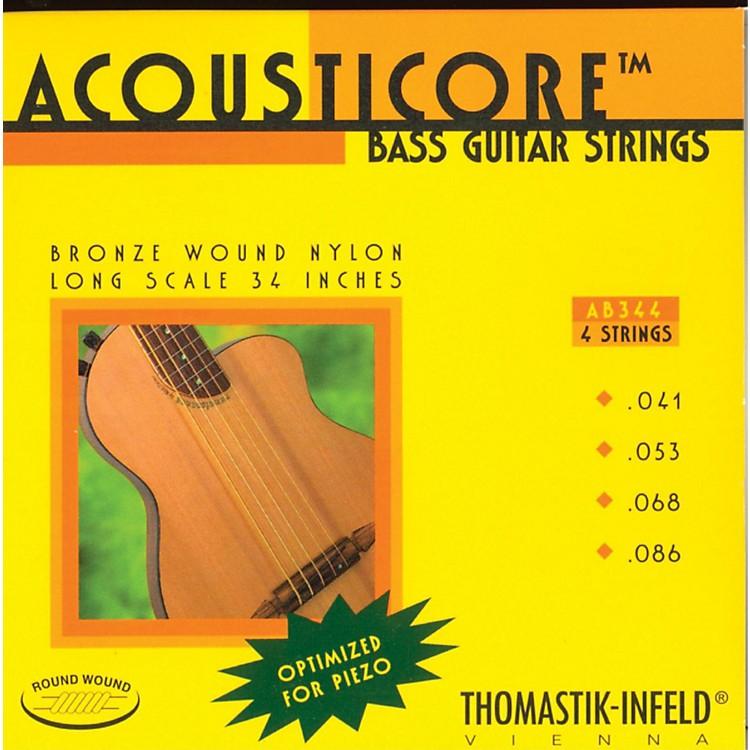 ThomastikAB344 Acousticore Phosphor Bronze 4-String Bass Strings