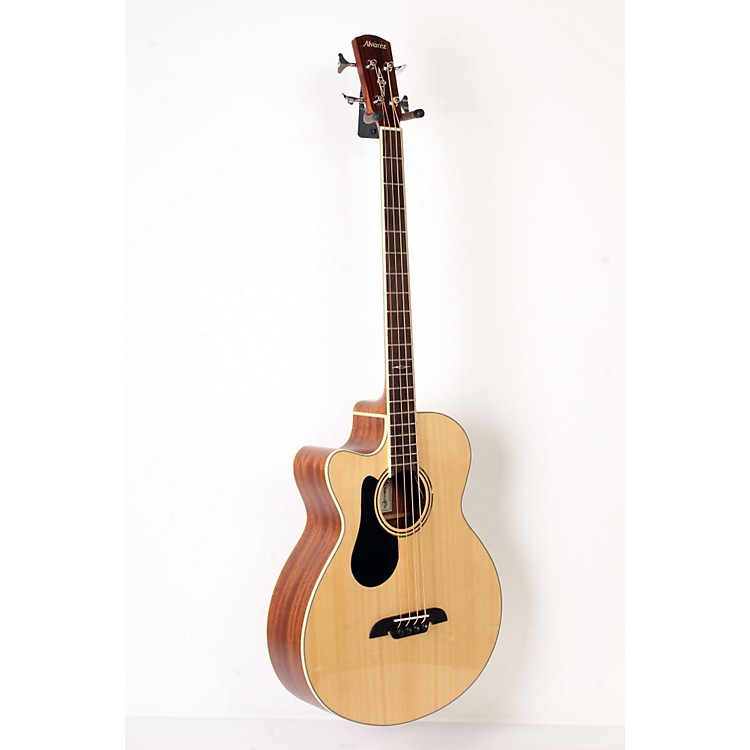 Alvarez AB60LCE Left-Handed Acoustic-Electric Bass Guitar Natural 888365901480