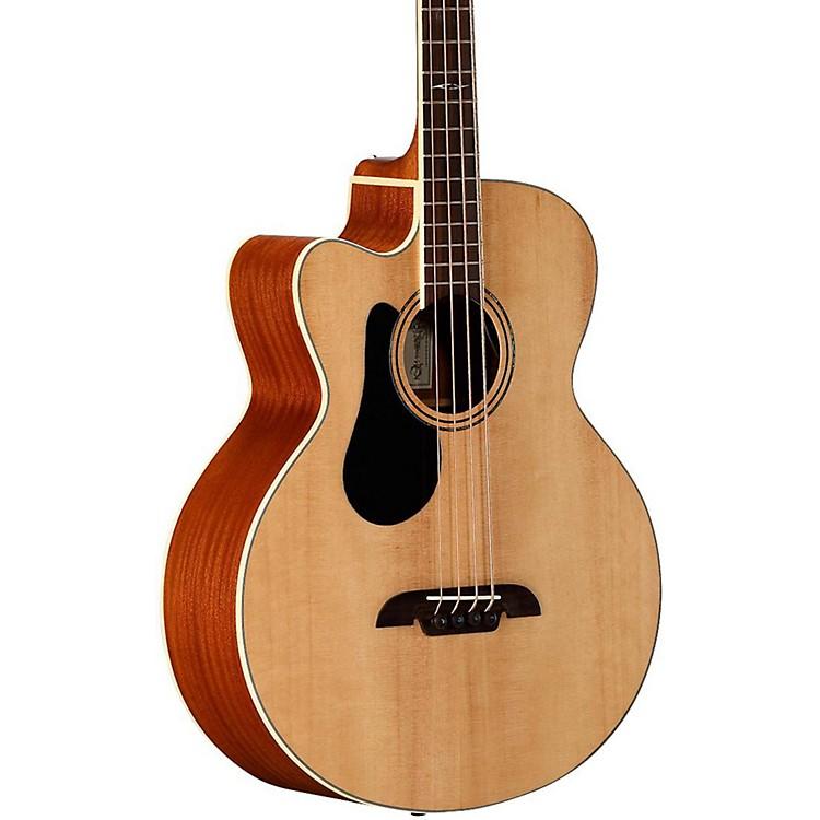 AlvarezAB60LCE Left-Handed Acoustic-Electric Bass GuitarNatural