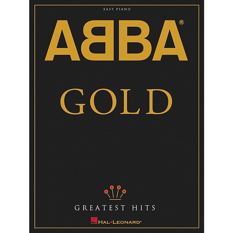 Hal Leonard ABBA - Gold Greatest Hits For Easy Piano
