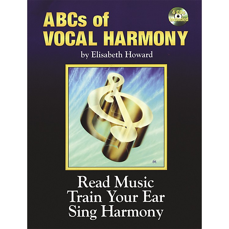 AlfredABCs Of Vocal Harmony Book and 4 CDs