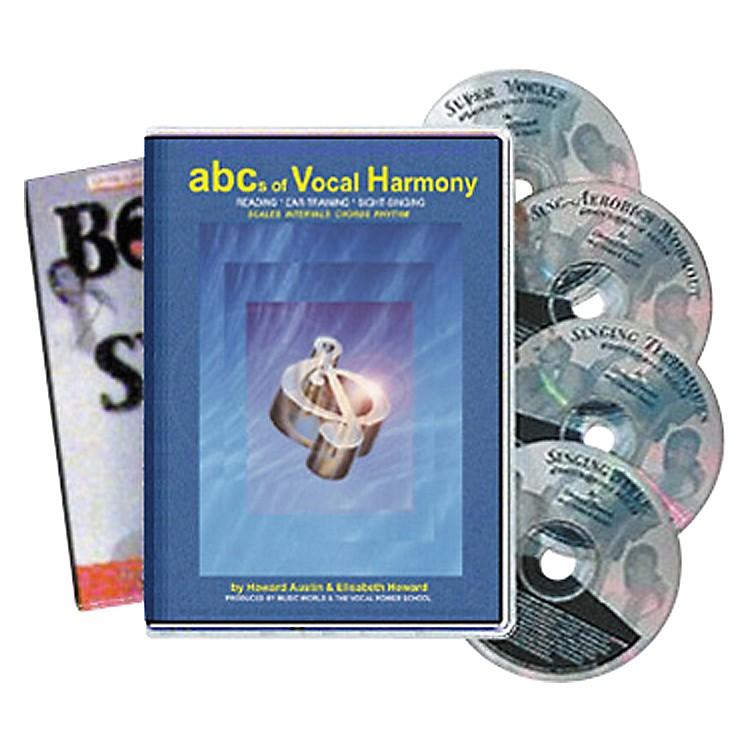 Born to SingABCs of Vocal Harmony (4 CDs/Book)