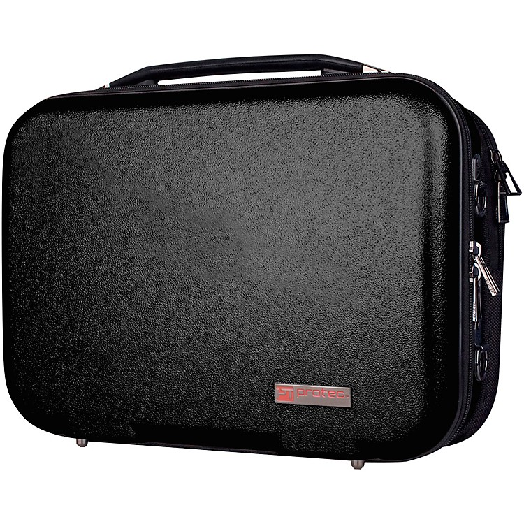 ProtecABS Zip Bb Clarinet Case with Removable Music Pocket, Black (BLT307)