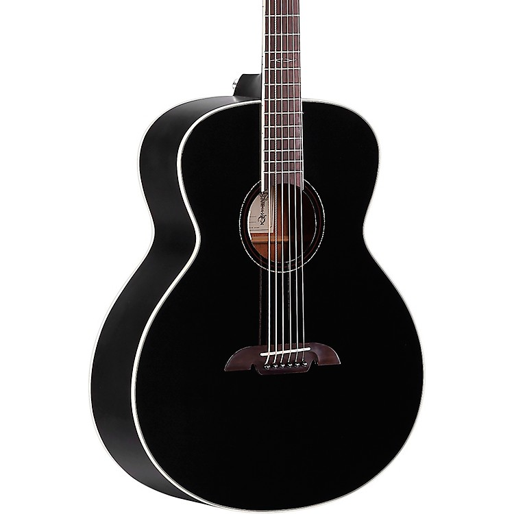 Alvarez ABT610E Baritone Acoustic-Electric Guitar Black