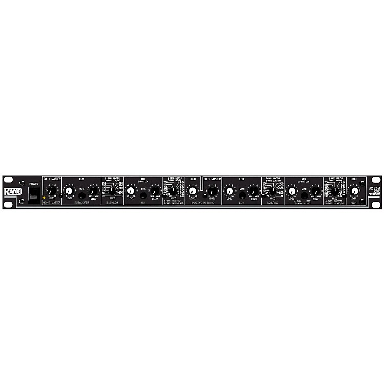 RaneAC 23S Active Crossover with Linkwitz-Riley Filter