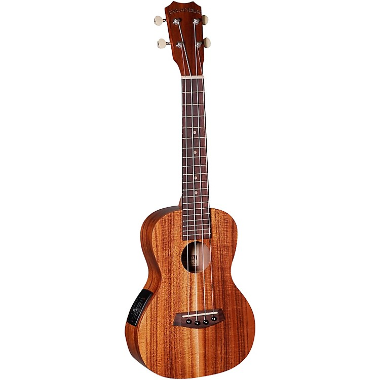 Islander AC-4-EQ Traditional Concert Acoustic-Electric Ukulele Natural