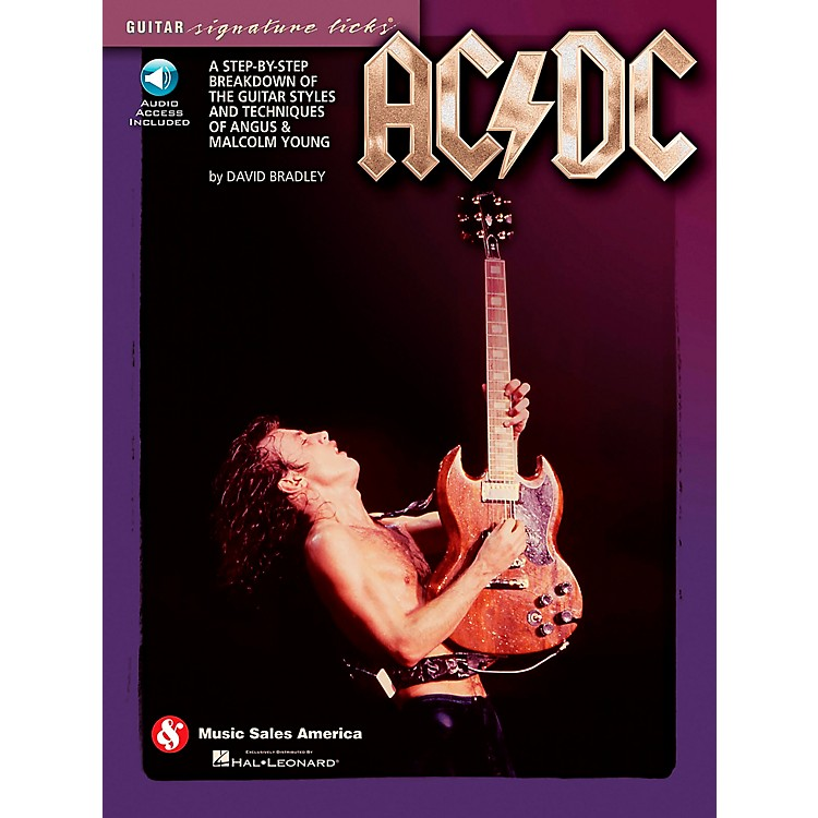 Music Sales AC/DC - Guitar Signature Licks Book/CD